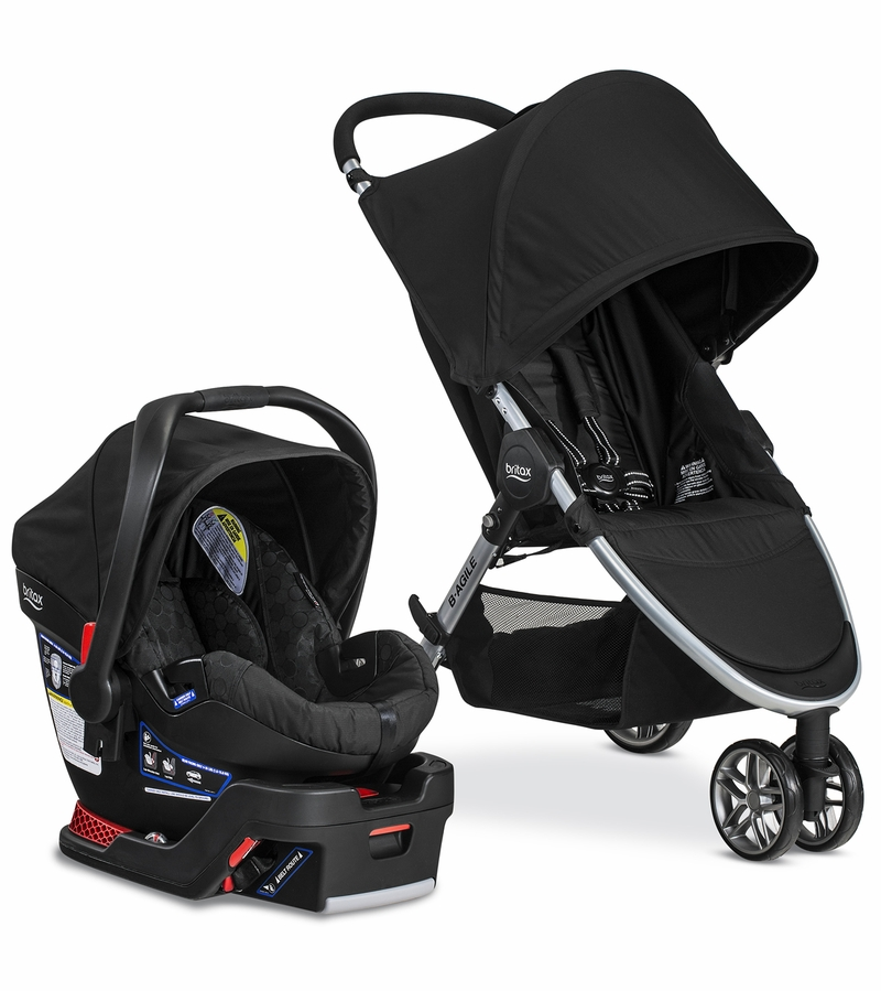 Britax B Agile 3 Amp B Safe 35 Travel System 2017 Black