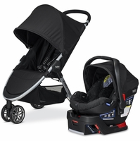 Britax B-Agile 3 & B-Safe 35 Travel System 2016 - Black