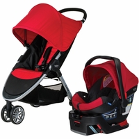 Britax B-Agile 3 & B-Safe 35 Travel System 2016 - Red