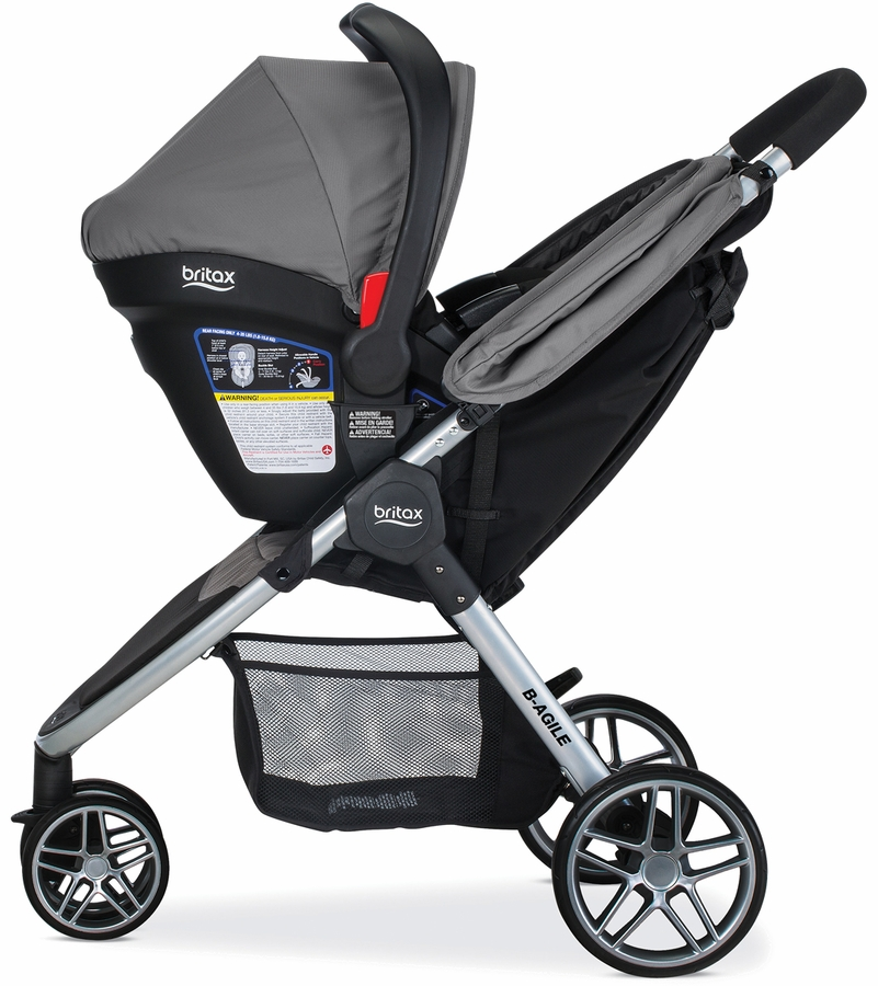 Britax B-Agile 3 & B-Safe 35 Travel System 2016 - Steel