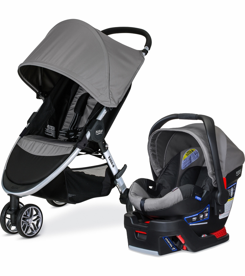 Britax B Agile 3 Amp B Safe 35 Travel System 2016 Steel