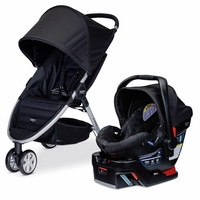 Britax B-Agile 3 & B-Safe 35 Travel System - Black