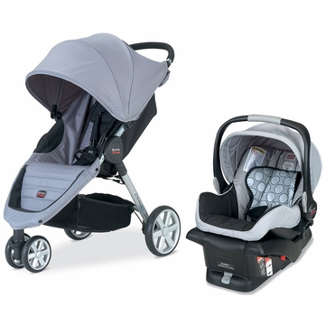 Britax B-Agile Travel System - Granite