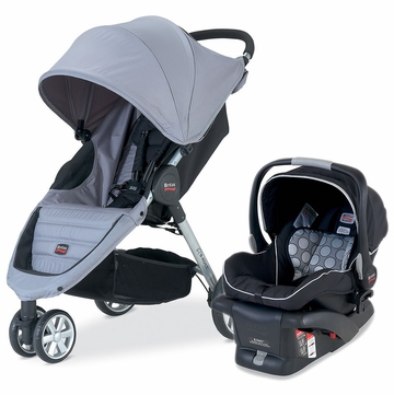Britax B-Agile Travel System - Granite/Black