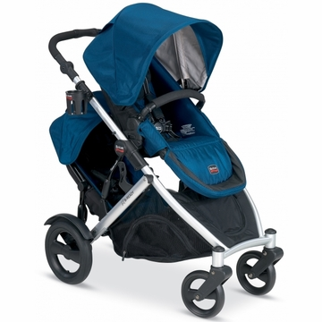 Britax B-Ready Stroller & Second Seat - Navy