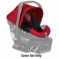 Britax B-safe 35 Infant Car Seat Cover Set - Red