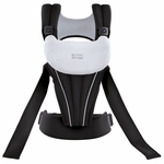 Britax Front Soft Baby Carrier - Black