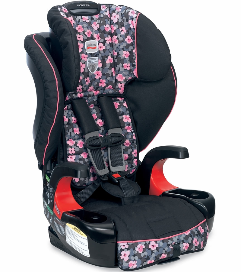 Britax Frontier  Booster Car Seat Cactus Flower