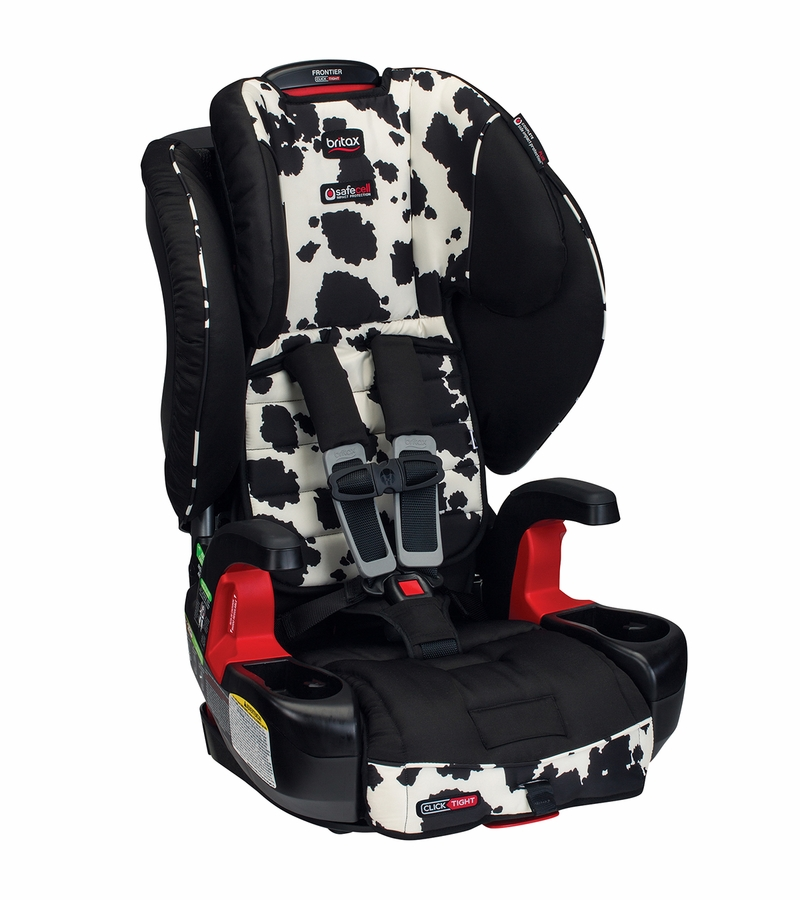 Britax Frontier Clicktight Booster Car Seat Cowmooflage