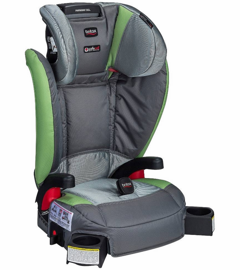 Britax Parkway Sgl Booster Car Seat Scout Meadow