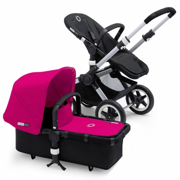 Bugaboo Buffalo Complete Stroller - Black/Pink