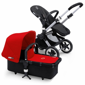 Bugaboo Buffalo Complete Stroller - Black/Red