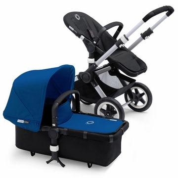Bugaboo Buffalo Complete Stroller - Black/Royal Blue