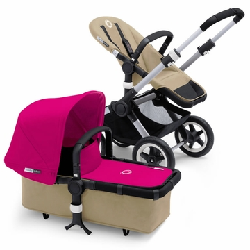 Bugaboo Buffalo Complete Stroller - Sand/Pink