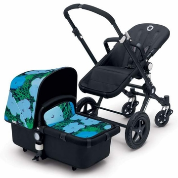 Bugaboo Cameleon 3 Andy Warhol Special Edition Stroller - Blue Flowers