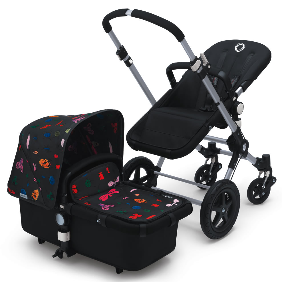 Bugaboo Cameleon 3 Andy Warhol Tailored Fabric Happy Bugs