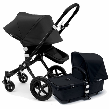 Bugaboo Cameleon 3 Stroller, Extendable Canopy - All Black