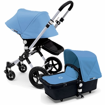 Bugaboo Cameleon 3 Stroller, Extendable Canopy - Black/Ice Blue