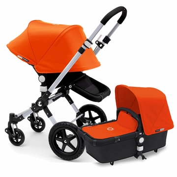 Bugaboo Cameleon 3 Stroller, Extendable Canopy - Black/Orange