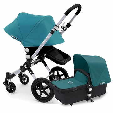 Bugaboo Cameleon 3 Stroller, Extendable Canopy - Black/Petrol Blue