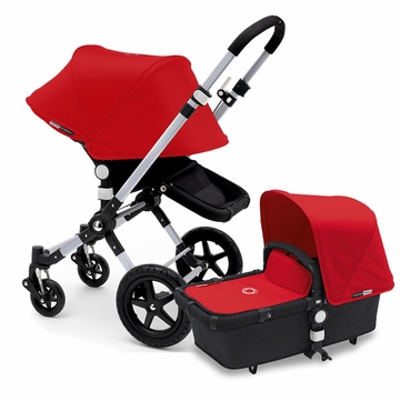 Bugaboo Cameleon 3 Stroller, Extendable Canopy - Black/Red