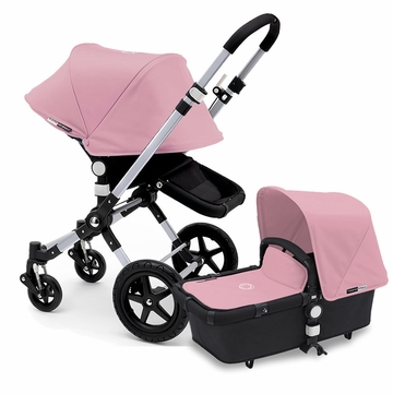 Bugaboo Cameleon 3 Stroller, Extendable Canopy - Black/Soft Pink