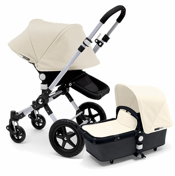 Bugaboo Cameleon 3 Stroller, Extendable Canopy - Grey/Off White