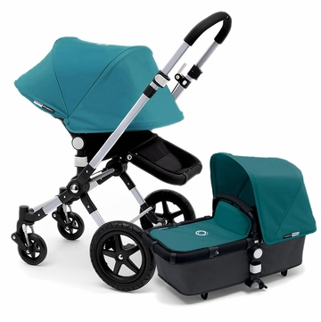 Bugaboo Cameleon 3 Stroller, Extendable Canopy - Grey/Petrol Blue