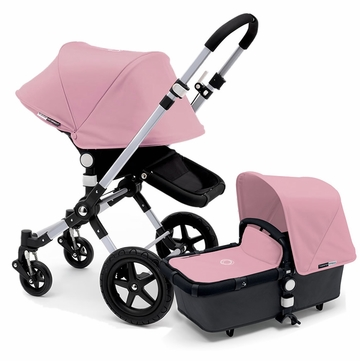 Bugaboo Cameleon 3 Stroller, Extendable Canopy - Grey/Soft Pink