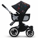 Bugaboo Donkey Andy Warhol Sun Canopy - Happy Bugs