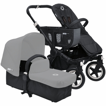 Bugaboo Donkey Stroller Compact Fold Base - All Black