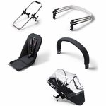 Bugaboo Donkey Duo Extension Set - Black