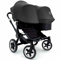 Bugaboo Donkey Duo Stroller, Extendable Canopy - 2015 - All Black