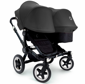 Bugaboo Donkey Duo Stroller, Extendable Canopy - All Black
