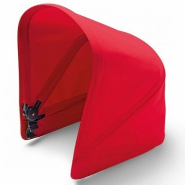 Bugaboo Donkey Extendable Sun Canopy - Red