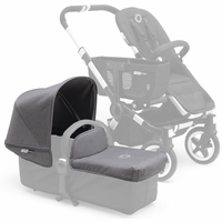 Bugaboo Donkey Extendable Tailored Fabric Set - Grey Melange