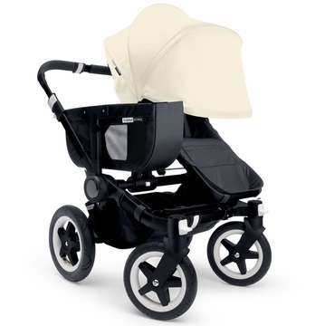 Bugaboo Donkey Mono Stroller, Extendable Canopy - All Black/Off White