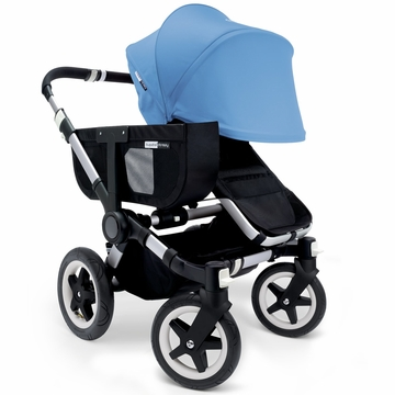 Bugaboo Donkey Mono Stroller, Extendable Canopy - Black/Ice Blue