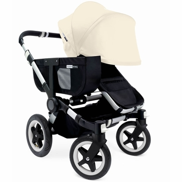 Bugaboo Donkey Mono Stroller, Extendable Canopy - Black/Off White