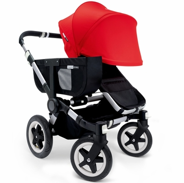 Bugaboo Donkey Mono Stroller, Extendable Canopy - Black/Red