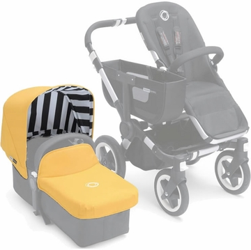 Bugaboo Donkey Tailored Fabric Set in Sunny Gold