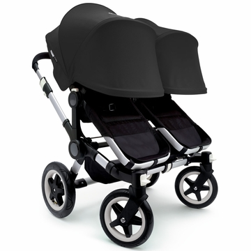 Bugaboo Donkey Twin Stroller, Extendable Canopy - Black