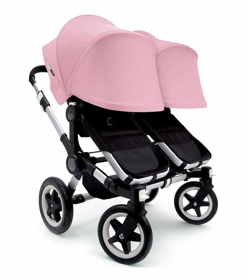 Bugaboo Donkey Twin Stroller, Extendable Canopy - 2015 - Aluminium ...