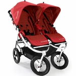 Bumbleride Indie Twin Stroller in Cayenne Red