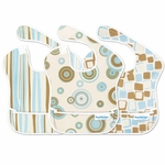 Bumkins Super Bib 3 Pack in Boy Element