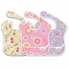 Bumkins Super Bib 3 Pack in Girl Trend