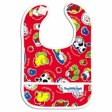 Bumkins Waterproof Starter Bib - Fat Farm - 2 Pack