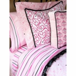 Caden Lane Big Kid Twin Duvet Cover in Luxe Pink