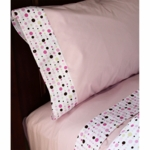 Caden Lane Big Kid Twin Sheet Set in Classic Pink