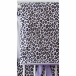 Caden Lane Girly Purple Leopard Blanket (Limited Edition)